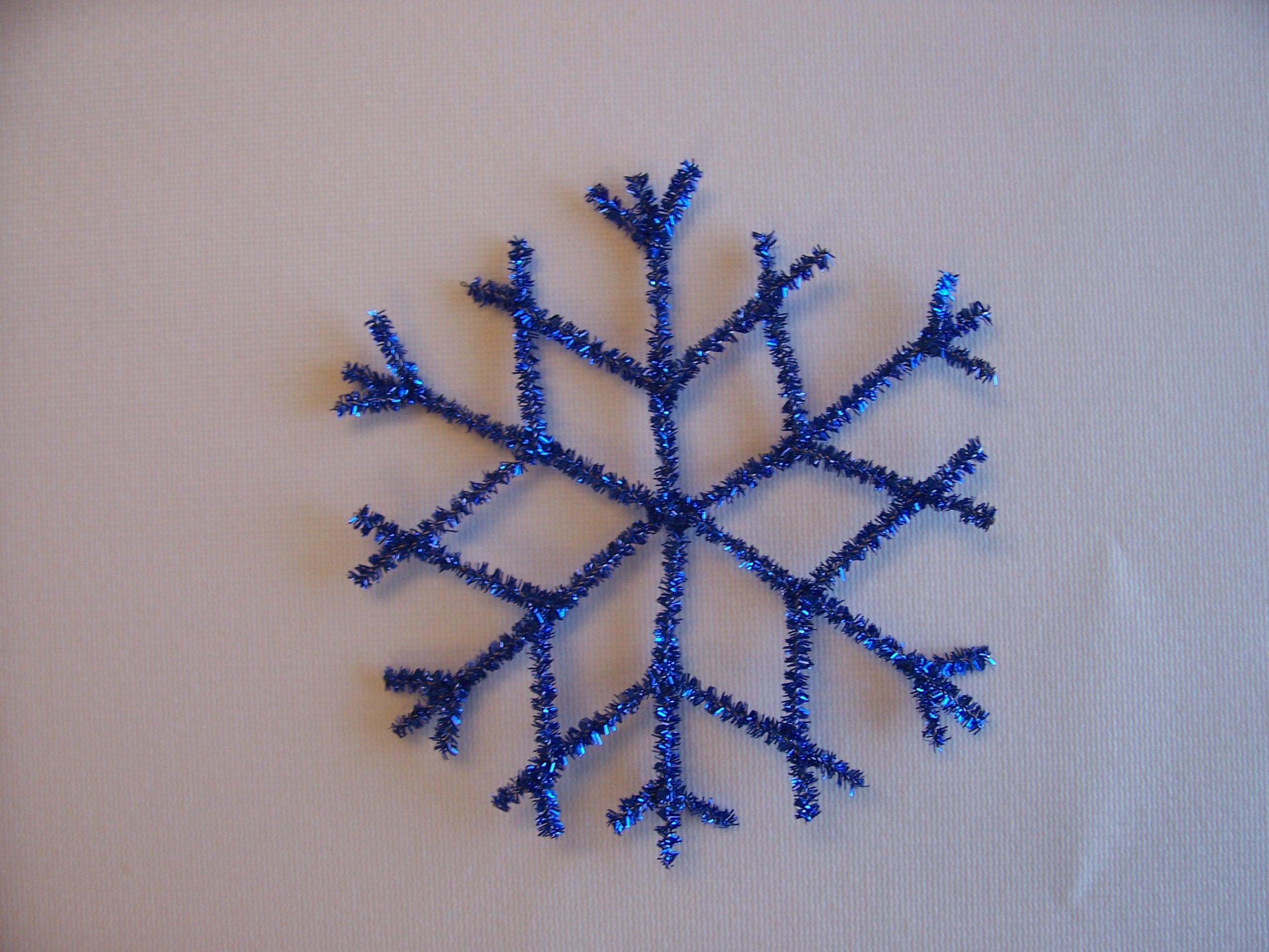 Picture of Retro Metallic Snowflake
