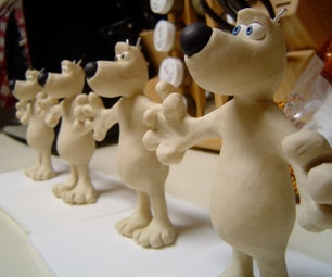 Making an Army of Gromit's (Claymation Mold Making)