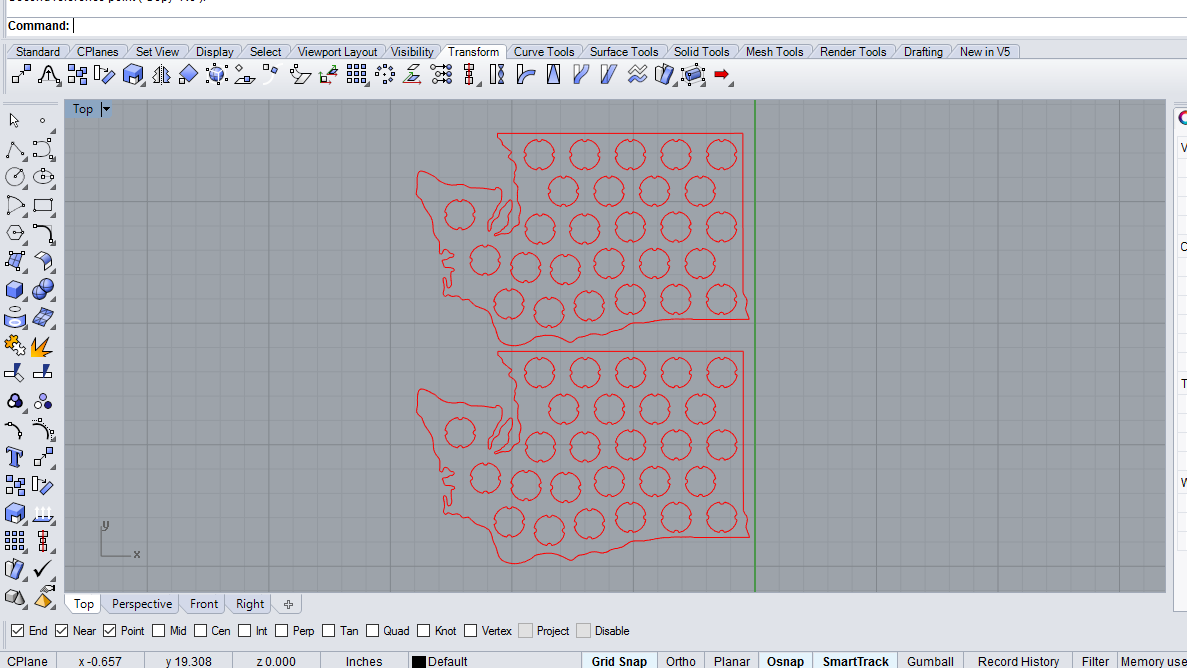 Picture of Designing the Pattern