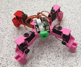 ScoutBot—Pi Bot With Camera