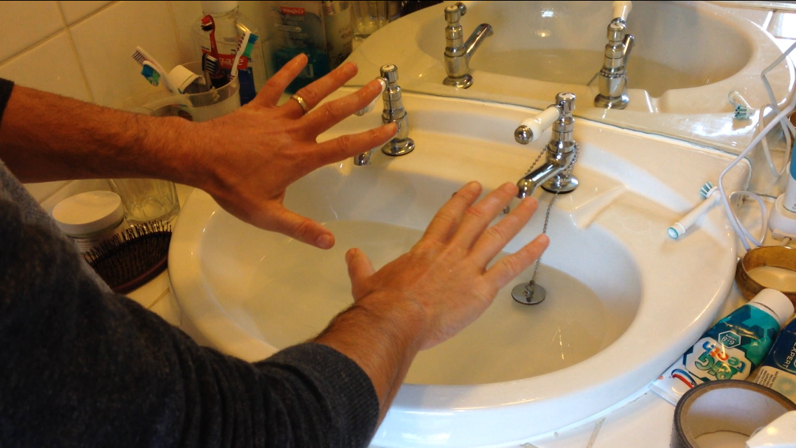 Picture of How to Unblock a Sink With Your Bare Hands When You Have No Plunger