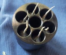 Paper cartridges for black powder revolver/Papir-patroner for svartkrutt-revolver