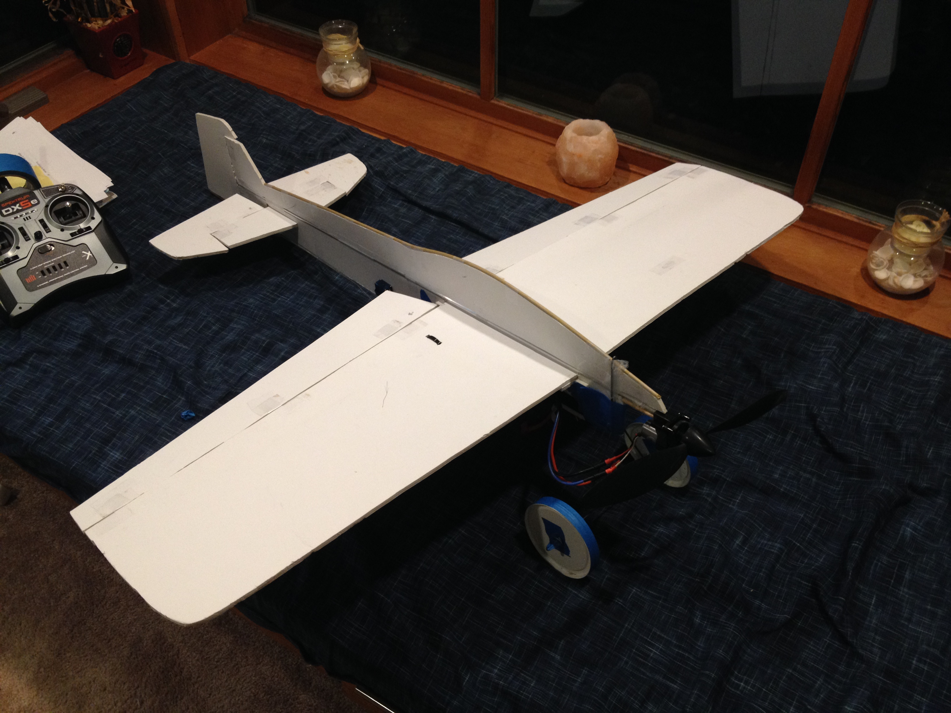 Picture of Done Dirt Cheap 3D Foamy ( RC Airplane )