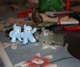 Duplicate Toys by casting plastic resin