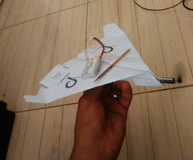 Successful Motorized Paper Plane