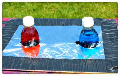 Picture of Push Bottles Into Holes and Let the Experimenting Begin!