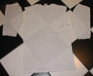 Cut Apart an Old Tee Shirt