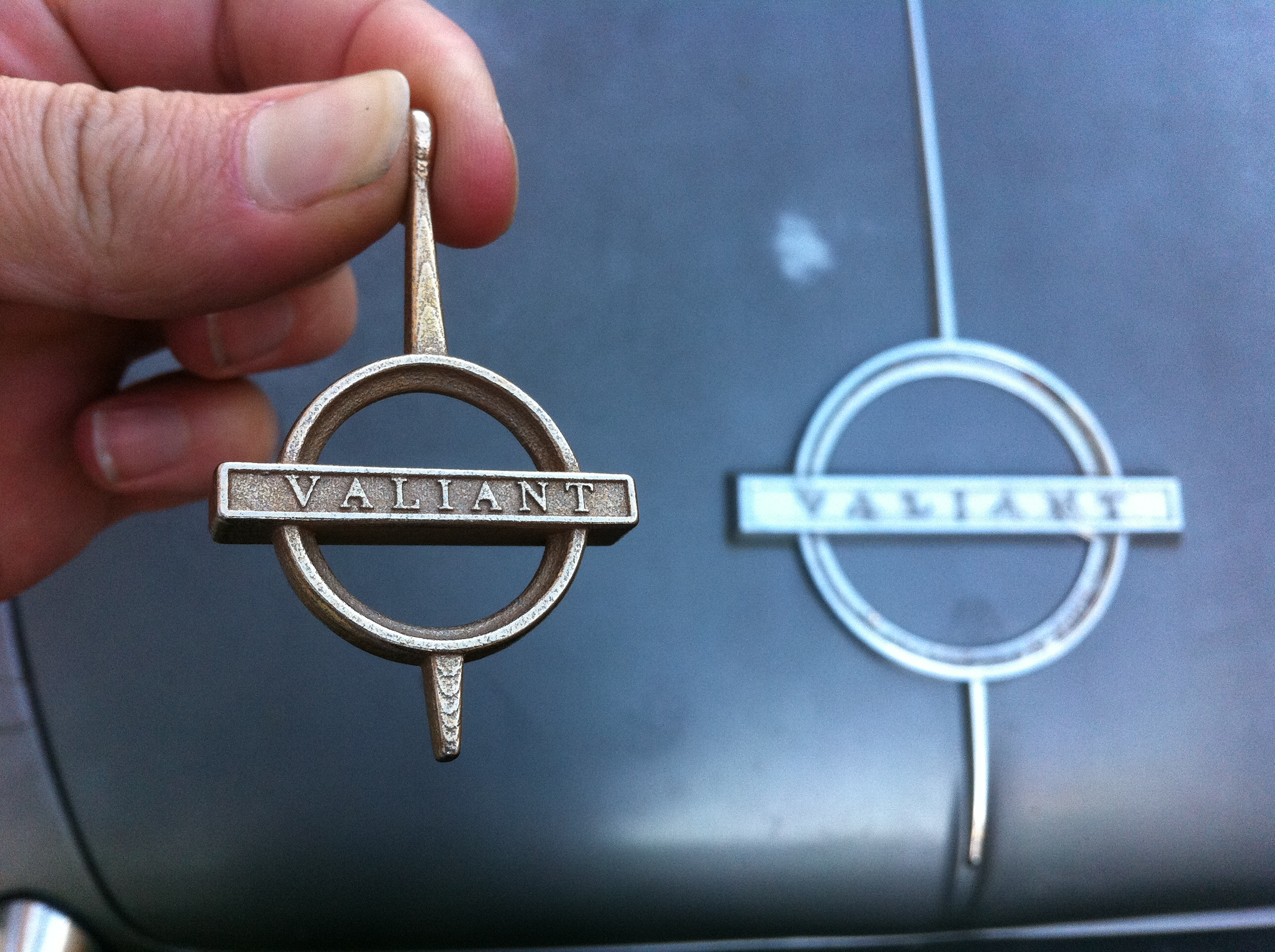 Picture of Making a Personalised Car-badge-themed Keyring