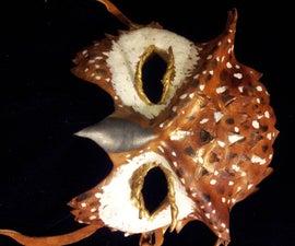 Leather Owl Mask