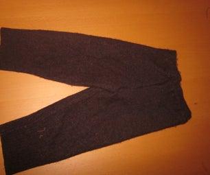 Baby Pants From Sweater or Sweatshirt Sleeves!