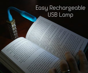 Easy Rechargeable USB Lamp