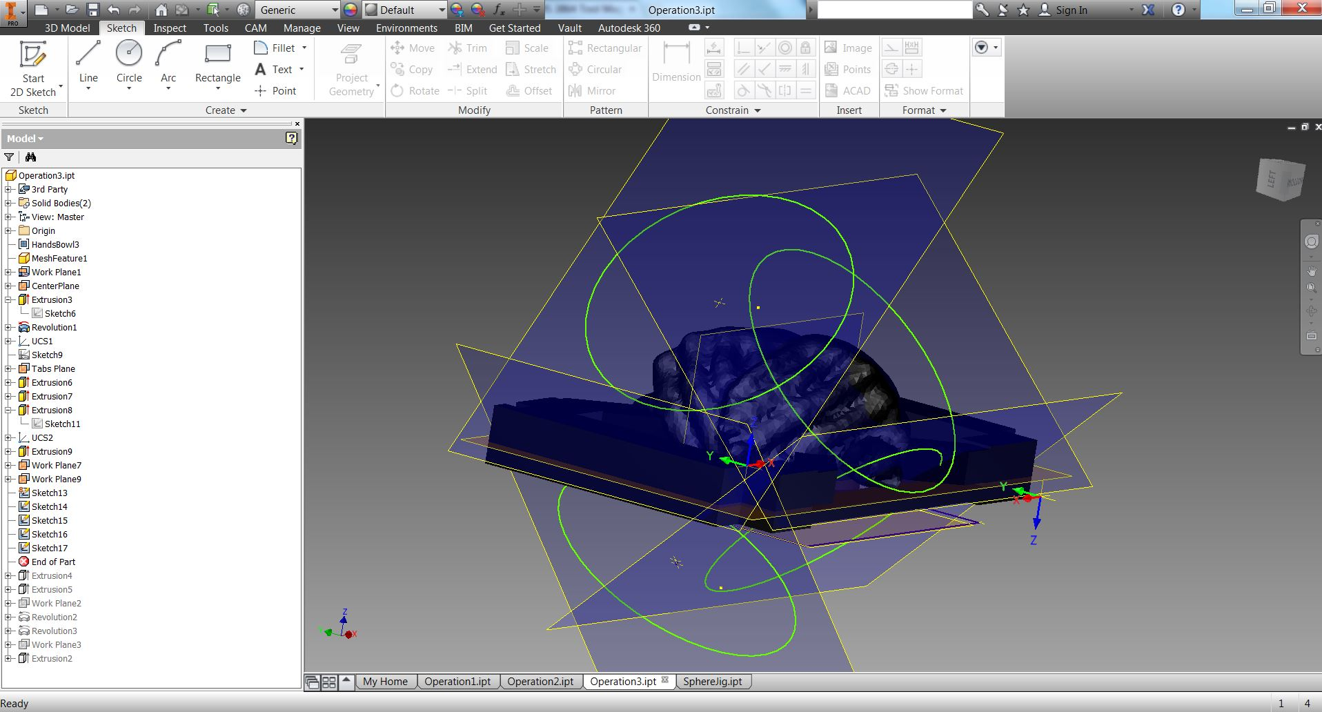 Picture of Inventor HSM to DMS: 3+2 Axis Workflow
