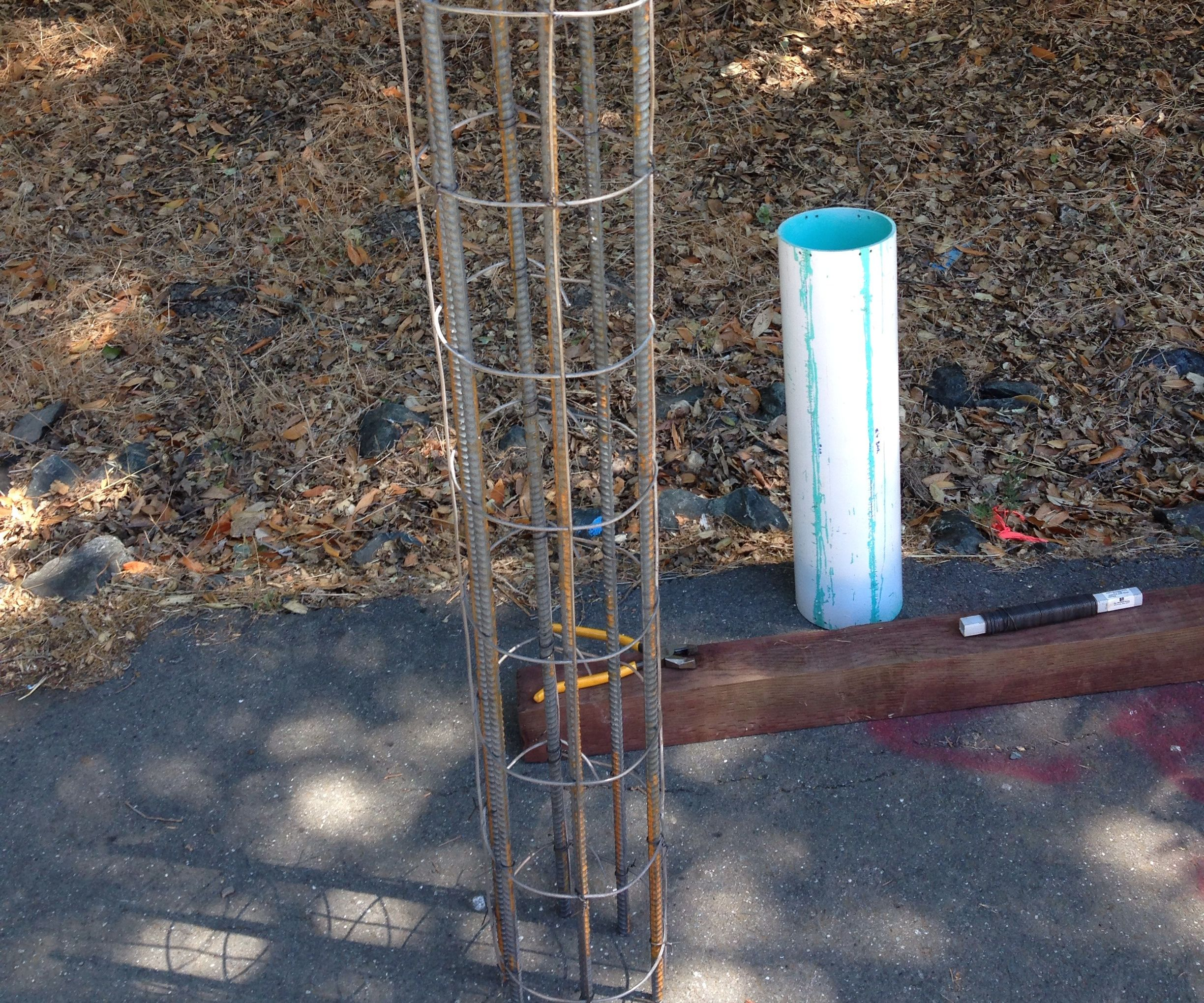 Make Rebar Cages On-site for Concrete Piers: 5 Steps (with ... on