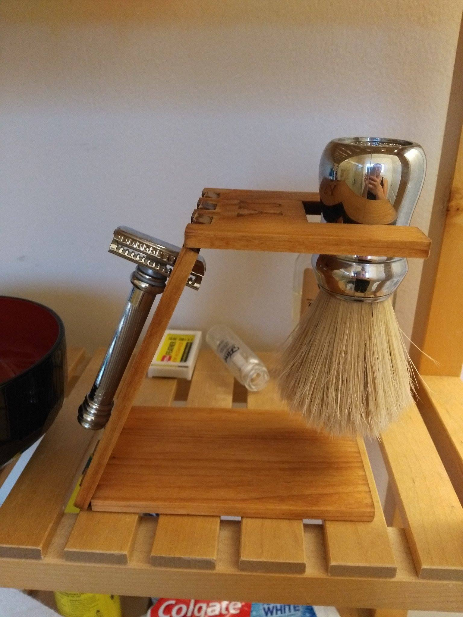 Picture of Personalized Laser Cut Shaving Stand