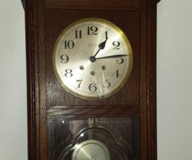 DIY - Repairing the Suspension Spring of an Vintage/antique Wall Clock