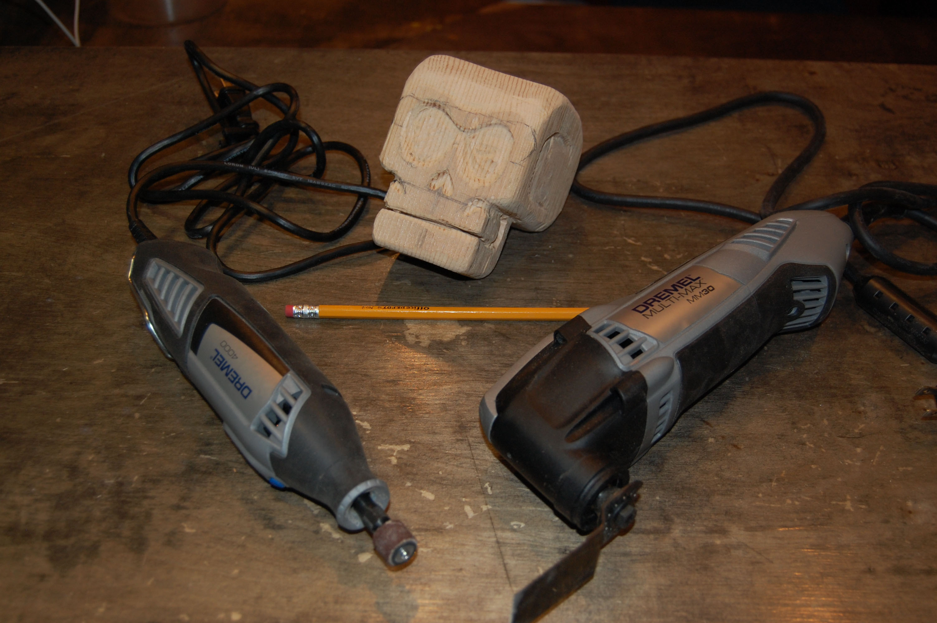 Picture of Wood Carving With a Dremel