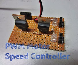 Make A PWM Motor Speed Controller