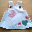 VERY eco baby dress