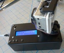 Timelapse Panning Controller for GoPro Cameras