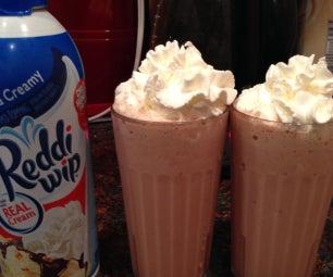 Homemade Chocolate Milkshakes