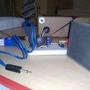 Simple LM386 Powered Audio Amplifier Breadboard Version