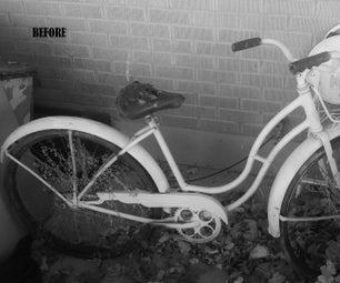 DIY Repurposed Vintage Schwinn Bicycle Flower Display