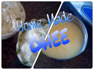 Tips From Mother- In-Law -Making Clarified Butter (Pure Ghee) the Easy Way