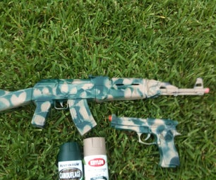 Gun Camo for Airsoft and Toys