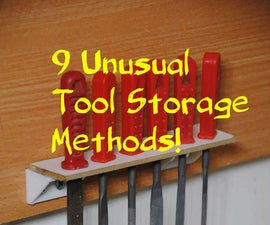 9 Unusual Tool Storage Methods for Your Workshop