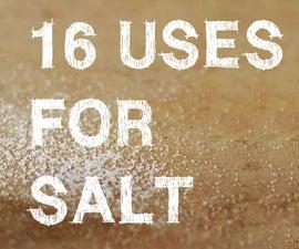 16 Unusual uses for salt