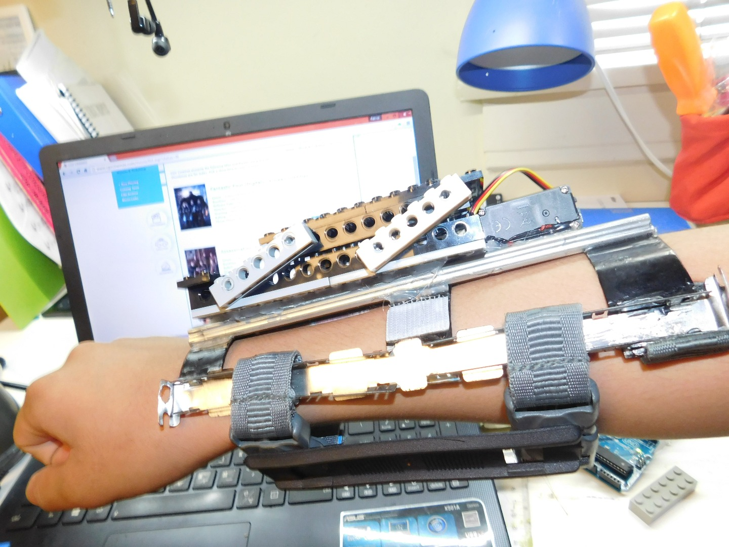 Picture of Assemble the Arm Piece