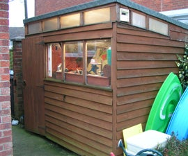 Build Kiteman's Shed!