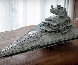 Lego star wars destroyer new model.
