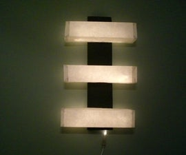 Paper Wall Lamp
