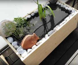 DIY Mini Pond