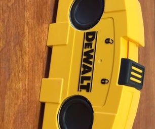 Dewalt Bluetooth Speaker and Power Bank