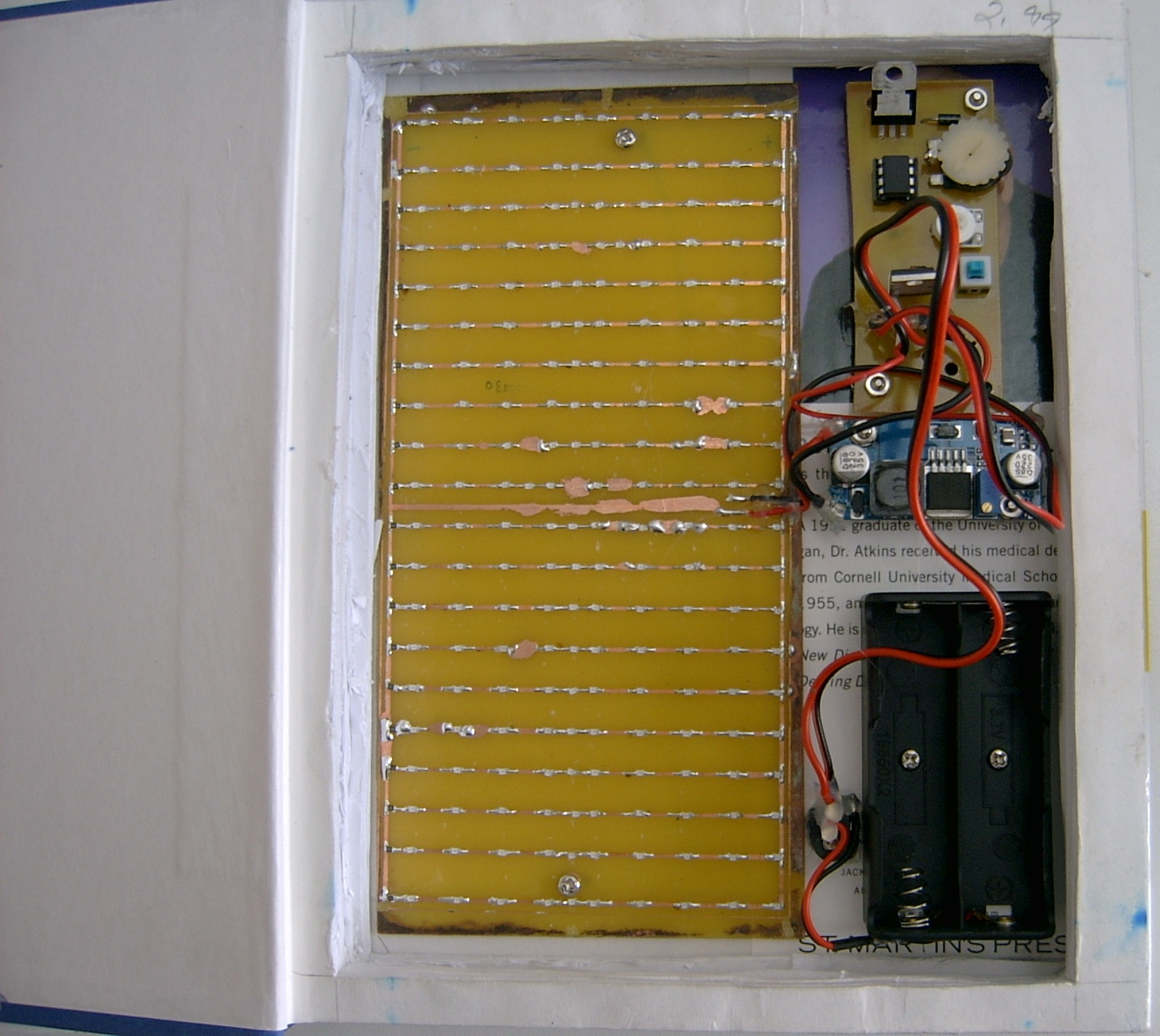 Picture of Screws for Circuit Boards and Battery Holder
