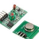 RF 433MHZ Radio Control Using HT12D HT12E | Making a Rf Remote Control Using HT12E & HT12D With 433mhz