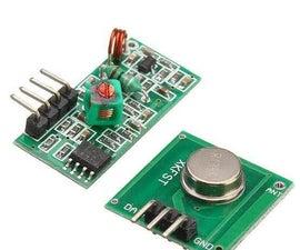 RF 433MHZ Radio Control Using HT12D HT12E   Making a Rf Remote Control Using HT12E & HT12D With 433mhz