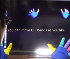 Manipit - IRONMAN JARVIS-like Hand Motion Tracking with Painted Gloves
