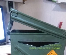 Postbox From an Ammunition Container