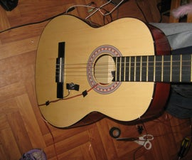 Cheap Acoustic guitar pickups or microphones!