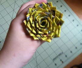 How To Make A Spiky Duct Tape Rose