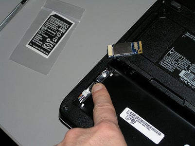 Open the Bluetooth Module Compartment