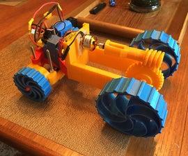 Modular 3D Printed Car