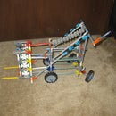 Knex Forklift With Back-Wheel Steering