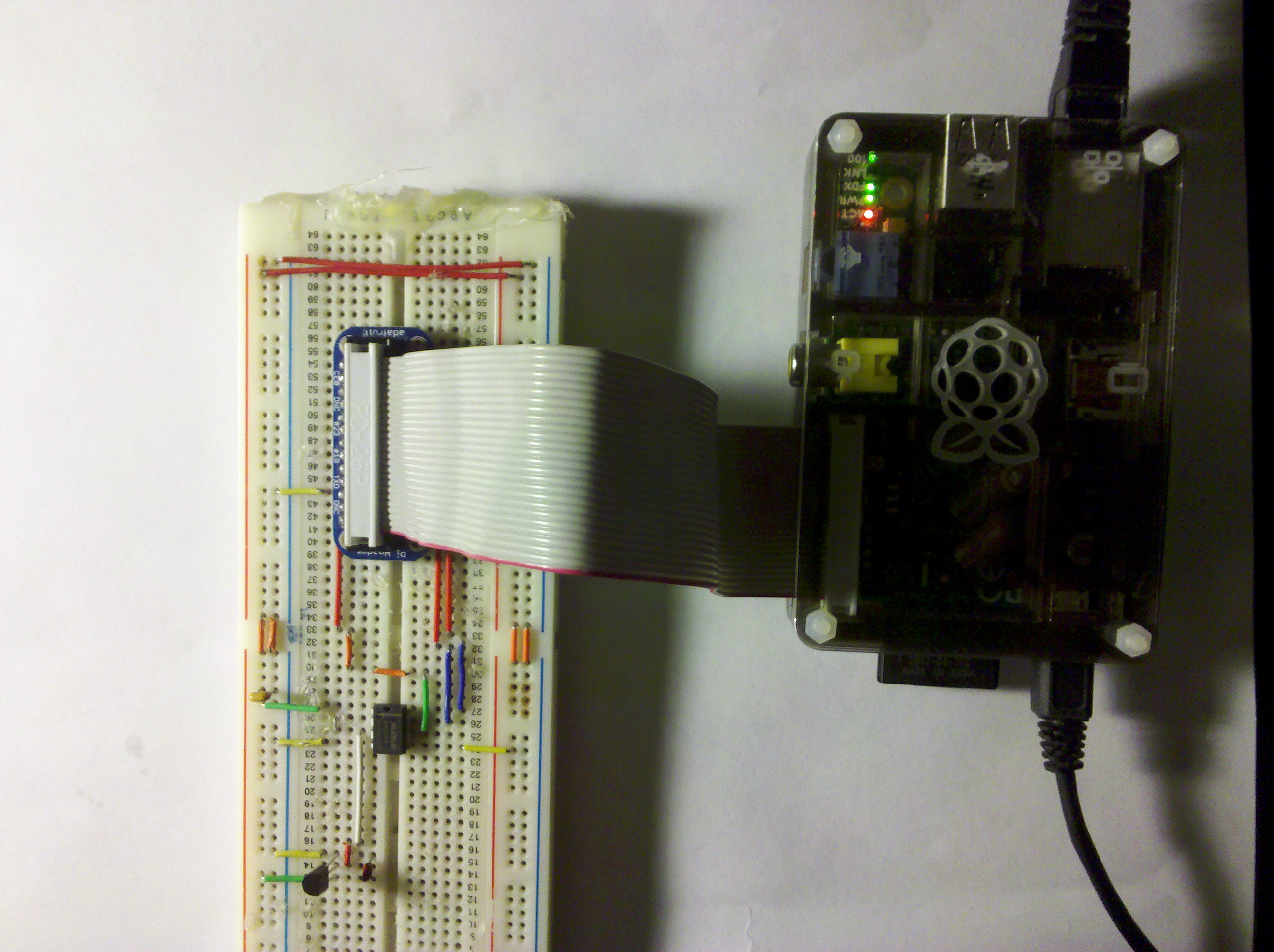 Picture of Online Temperature Monitor W/Raspberry Pi