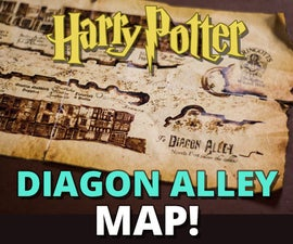 Diagon Alley Map