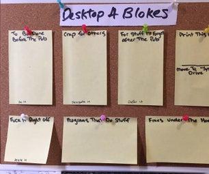 Create an Organising Wallpaper for Men