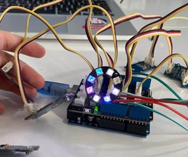 For Newbies at Arduino Programming: Telling the Direction of Fire in 3 Seconds WITH PIXEL LIGHTS!